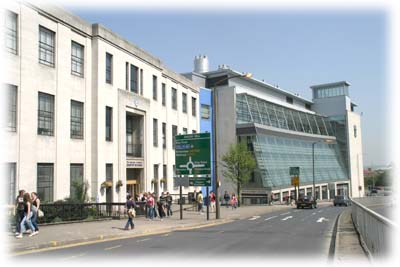 The Dainton Building and the Richard Roberts building